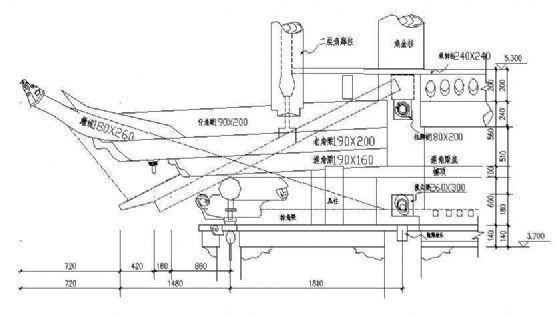 嘉峪关关楼修复方案图纸-3
