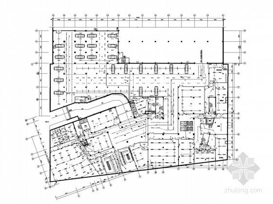 [大连]五星级大酒店全套电气施工图纸(大样图)