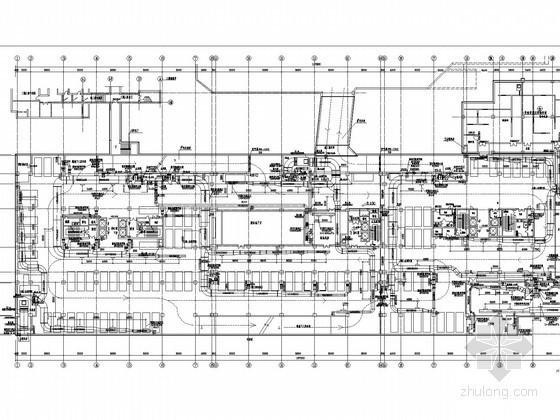 [北京]高层办公建筑空调通风及防排烟系统设计施工图(制冷机房及换热站设计)