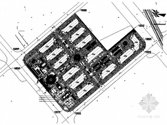 [温州]城市新区标准厂房工程设计施工图