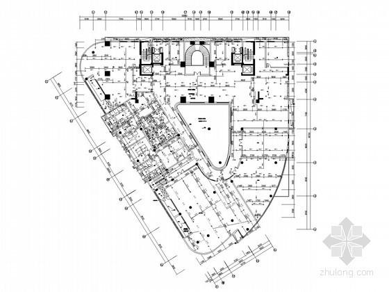 [广东]二十六层住宅建筑给排水全套图纸(气体灭火)