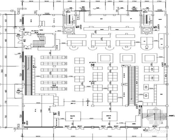 [江苏]超市建筑消防施工图纸