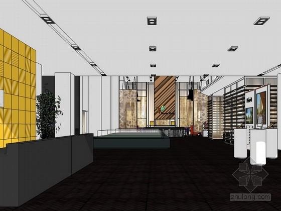 [天津]某生态产业园售楼处装饰室内设计方案