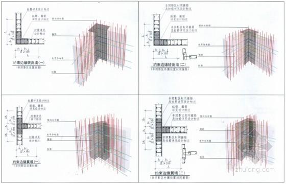 [三维平法]11G101系列三维立体平法结构识图与钢筋算量高清图解教程(附图丰富274页)-约束边缘构件 YBZ 构造