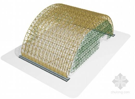 核电站钢结构篷体加工制作施工技术