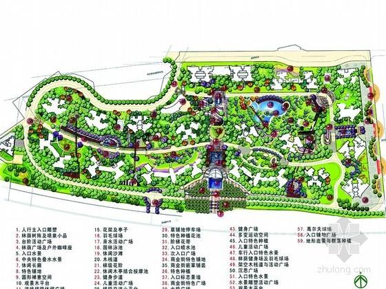 小区局部区域景观设计方案
