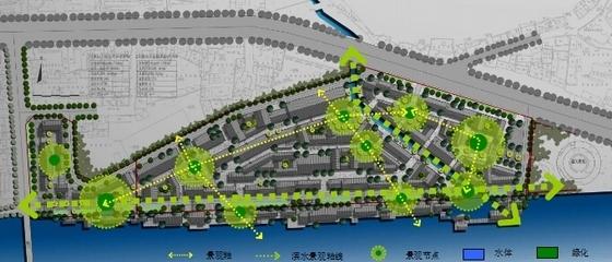 [湖南]风情古街景观规划设计方案-景观分析
