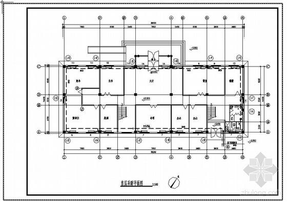 办公楼采暖设计图