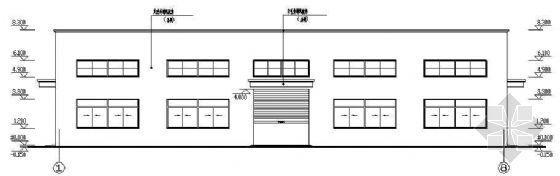 某公司仓库钢结构(30米X32米)图纸