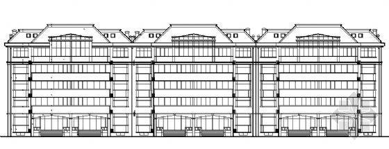 某五层住宅楼建筑施工图