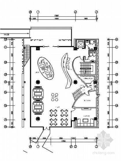 [上海]450㎡现代售楼处施工图(含效果)