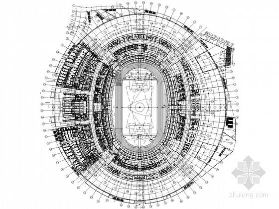 [华东]奥体中心全套暖通空调设计施工图282张(24万平米、水源热泵、冰蓄冷)