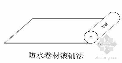 北京某商业楼防水施工方案