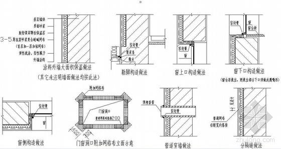 安徽某项目外墙外保温专项施工方案(胶粉聚苯颗粒)