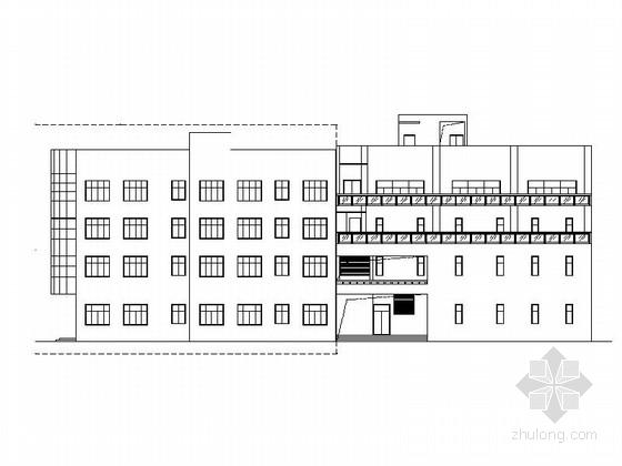 [浙江]4层市级城建档案馆库房建筑施工图