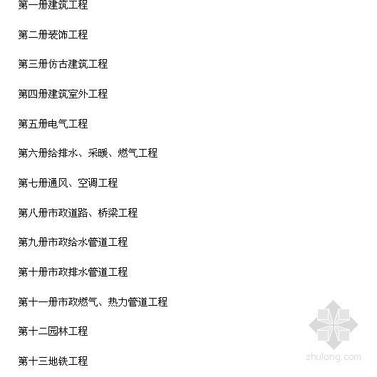 [北京]2004概算定额说明及工程量计算规则(装饰工程)