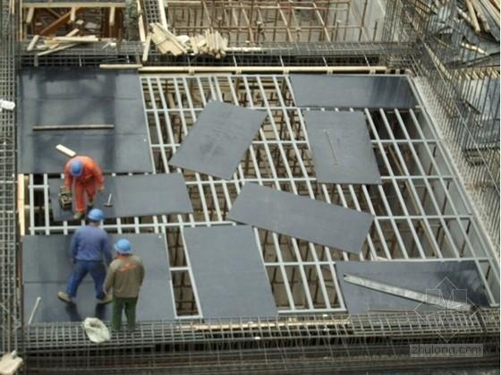 新型顶板模板支撑体系施工应用总结