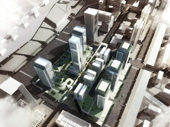 [南京]某CBD规划及单体设计方案文本(160米)