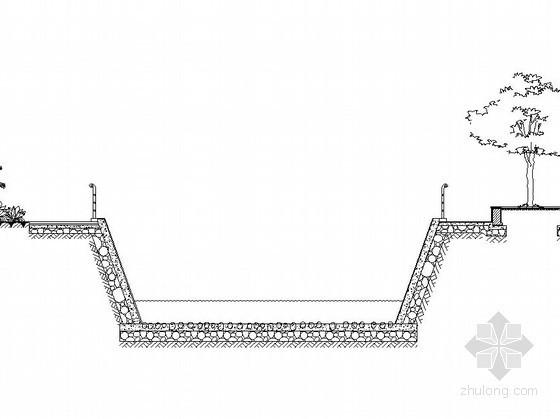 防护栏杆施工图