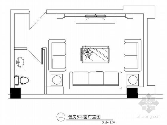 欧式娱乐会所资料下载-某欧式娱乐会所包房5装修图