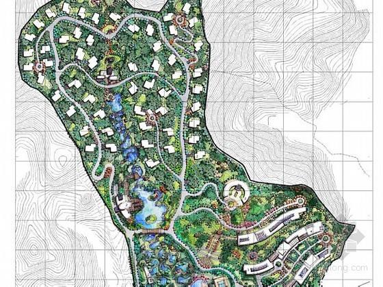 [江西]温泉度假村总体规划设计方案