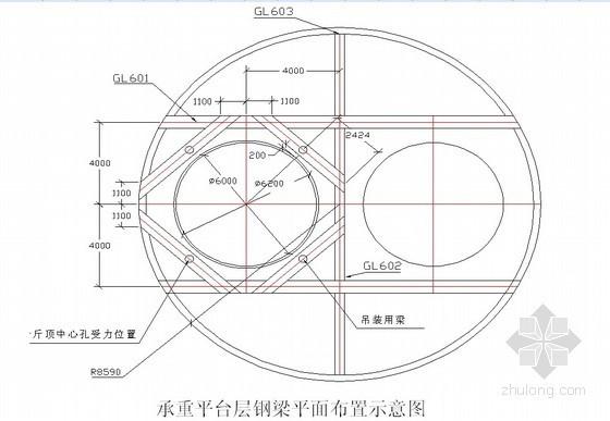 工业建筑烟囱钢内筒液压钢绞索提升倒装施工工法