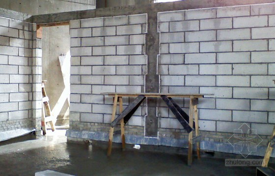 砌筑工程加气混凝土块施工技术交底(50页)