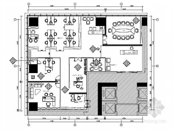 [佛山]现代高端甲级写字楼大小样板间室内装修图(含效果)