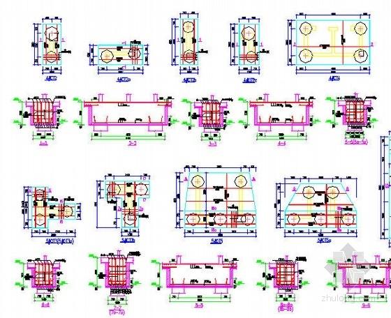 某高层建筑桩基础设计图及抗浮验算书