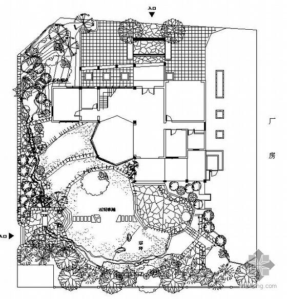 某别墅景观设计施工图
