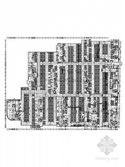 [福建] 大型小区住宅楼项目地下室全套电气施工图纸