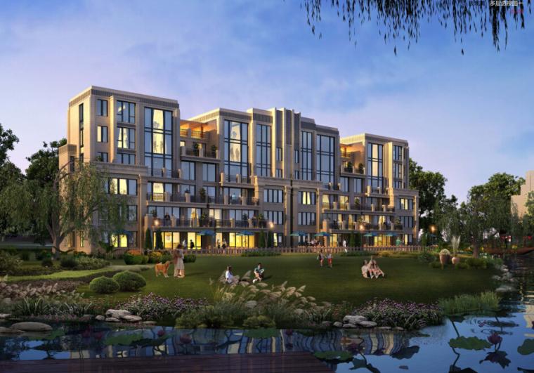 [湖南]新古典主义住宅小区规划设计方案文本