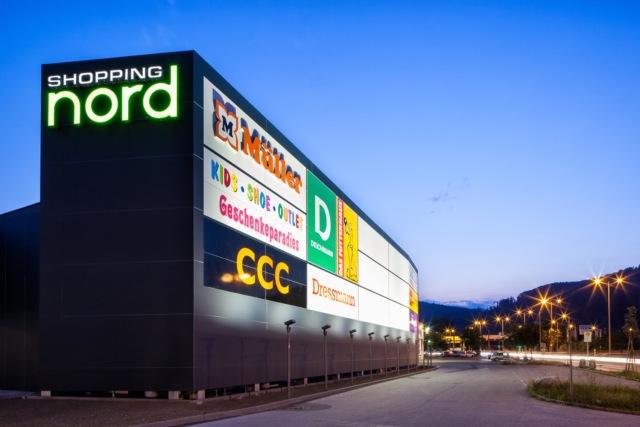 万漪景观分享--Nord Graz 购物中心-该效果被一个釉面、非对称的圆形第6张图片