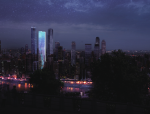 [重庆]水晶石结构超高层商业综合体建筑设计方案文本