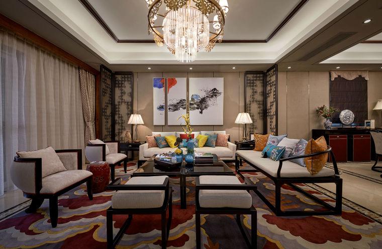 珠海弘泰豪庭新中式样板房