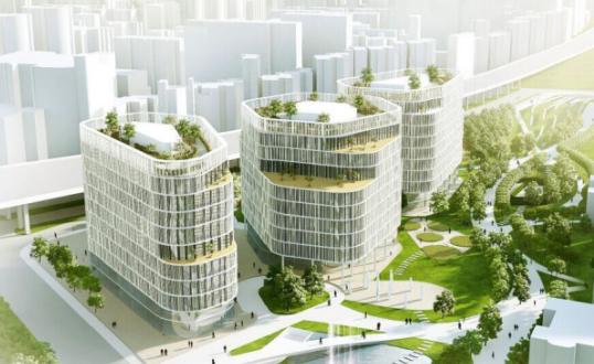 上海万科南站商务城二期机电安装工程创优策划