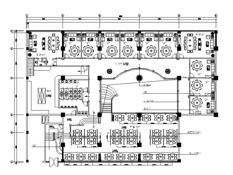 全套火锅店设计CAD施工图