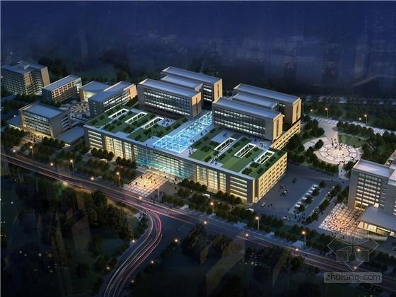 [重慶]現代風格大型醫院設計方案文本(含cad)