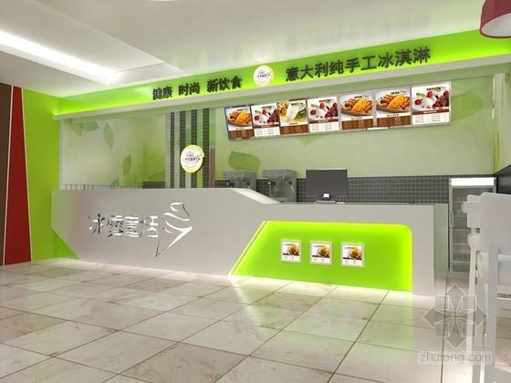 快餐店3D模型下载