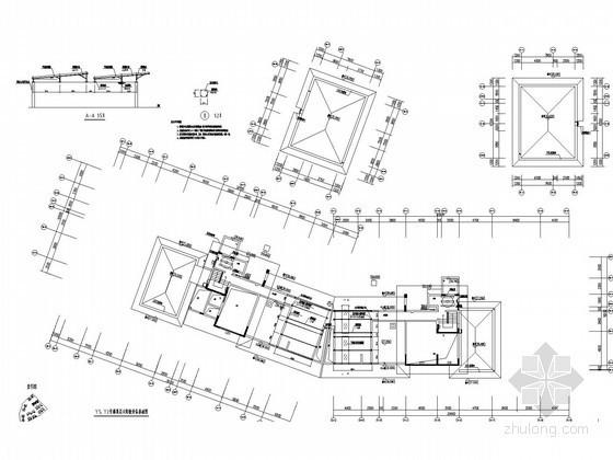 [广东]高层住宅太阳能热水系统工程给排水施工图纸