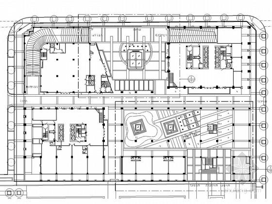 [宁波]办公内庭景观规划设计方案整套施工图纸