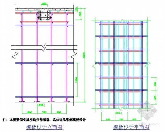 框剪结构医院工程承重支模架施工技术方案