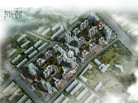 [内蒙古]古典风格高层居住区设计方案文本(知名设计院)