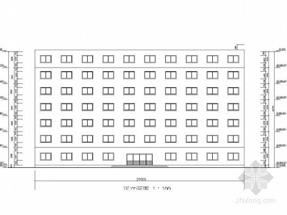 [学士]七层框架结构综合办公楼设计(含建施结施计算书及弯矩分配)