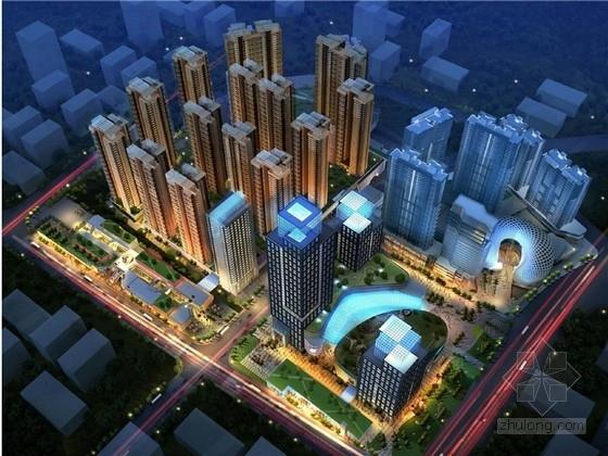 [贵阳]现代高层住宅小区规划及商业综合体建筑设计方案文本