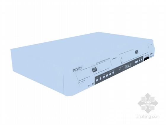 VCD播放器3D模型资料下载-DVD播放器3D模型下载