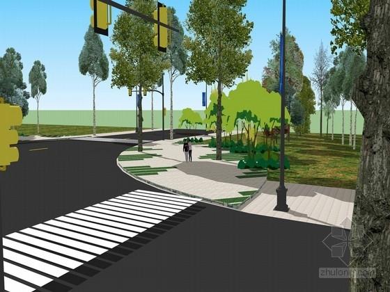 [河北]公路沿线景观风貌提升规划设计方案(含投标方案)