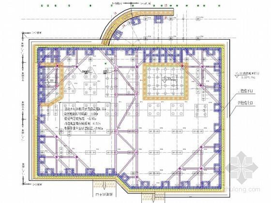 [浙江]淤泥地层深基坑桩撑支护施工设计方案