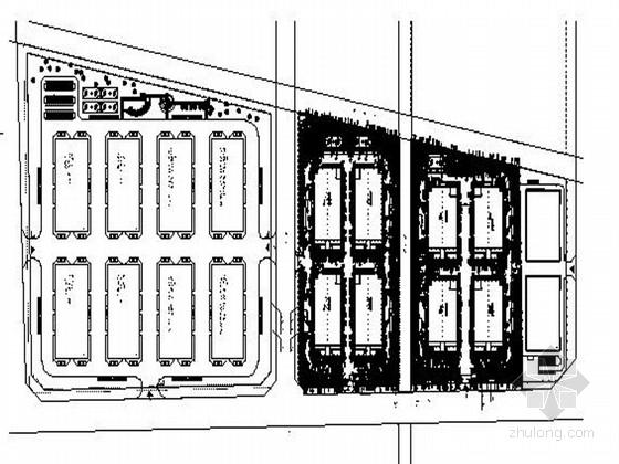[江苏]工业园区标准厂房周边景观设计施工图