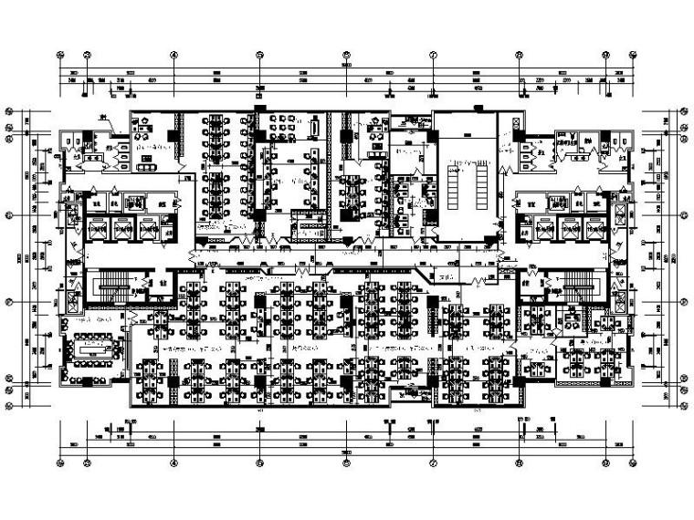 [常州]某知名影视动画产业公司办公楼室内设计施工图